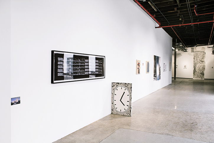 Tightened As If By Pliers at the Knockdown Center, install shot, 2014