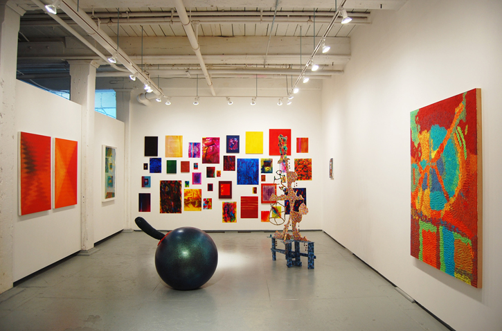 September 11 –October 18, 2015    Color Against Color   Andy Cross, Benjamin Degen, Alyssa Gorelick, Hein Koh, Ben Pederson, Richard Tinkler, David Scavavino, and Nichole Van Beek