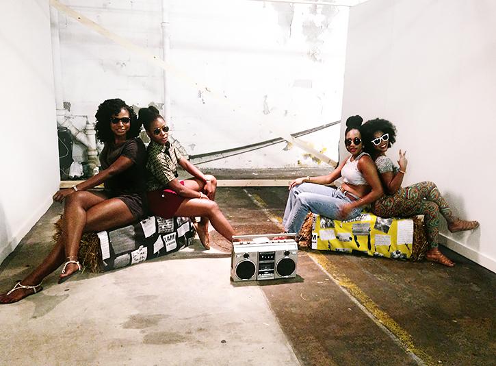 Always Already Here Vol.1  – Artscape Artist Run Art Fair in Baltimore,A mixtape and installation organized by Joshua Bienko and Lauren F. Adams July 17, 2014 – July 19, 2015