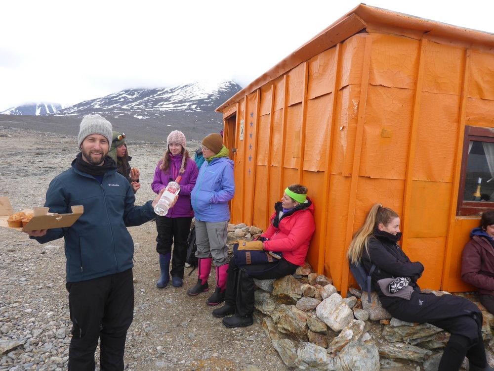 Regnardneset, Lloyds Hotel,Svalbard, Norway July 16, 2016
