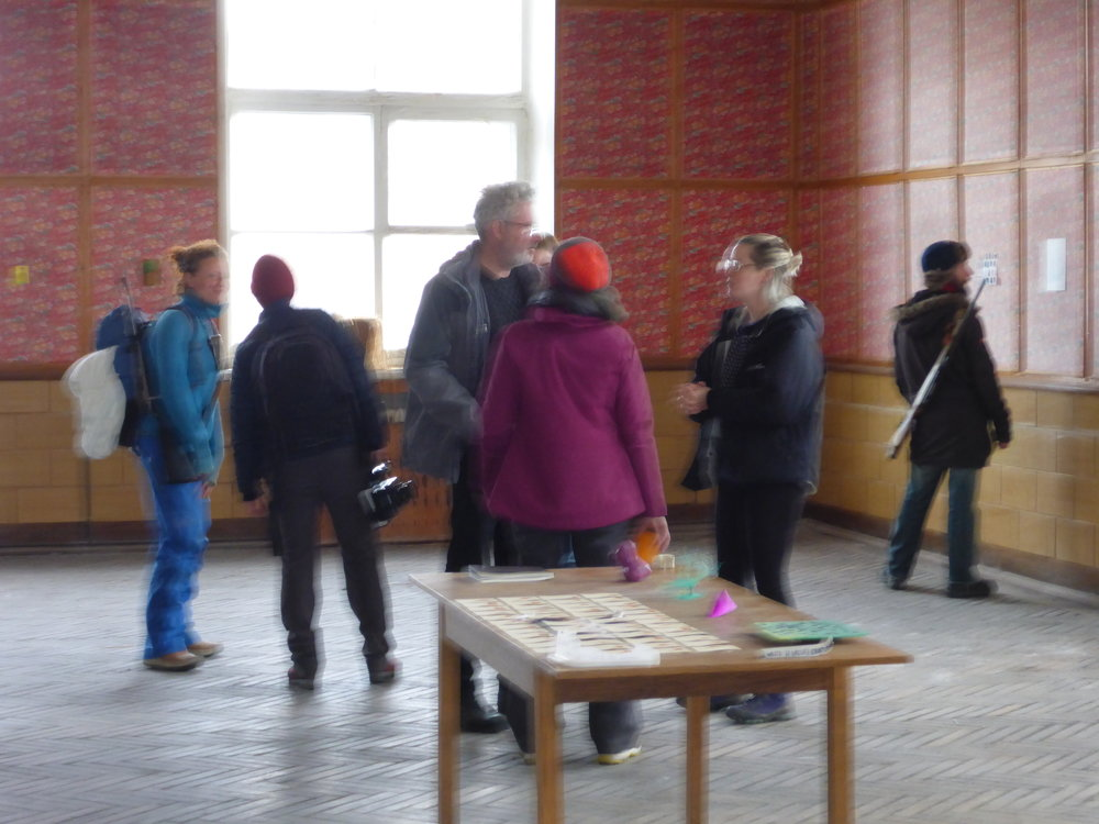 Reception, Pyramiden Canteen, Svalbard, Norway, July 2016