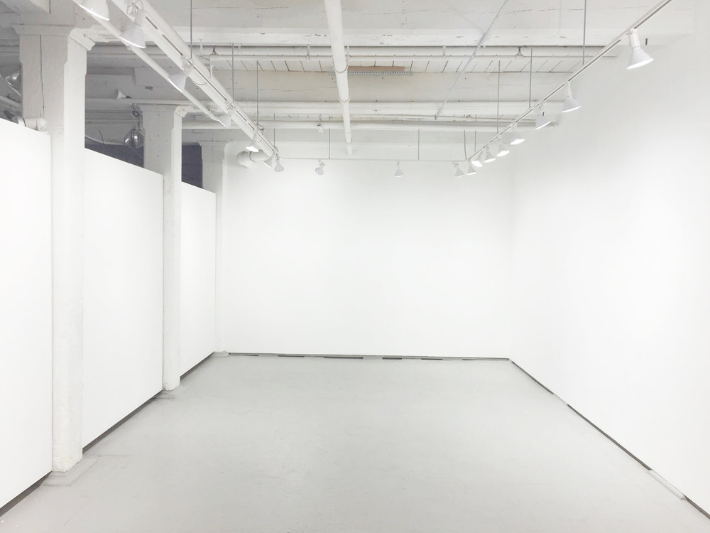 Empty Gallery at OyG Projects