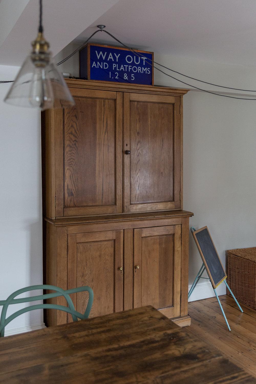 Vintage Furniture School Cupboard