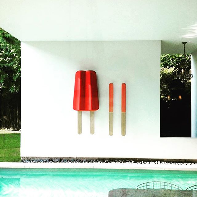 Summer Friday kind of feel. Dreaming of popsicles and pools this weekend. Here Today, Gone Tomorrow by #myersbergstudios #artistsoninstagram #artinspiration #designinspiration #jmhinteriors #jqlynandco . . . . . #poolparty #poolinspiration #popsicle #red #designinspiration