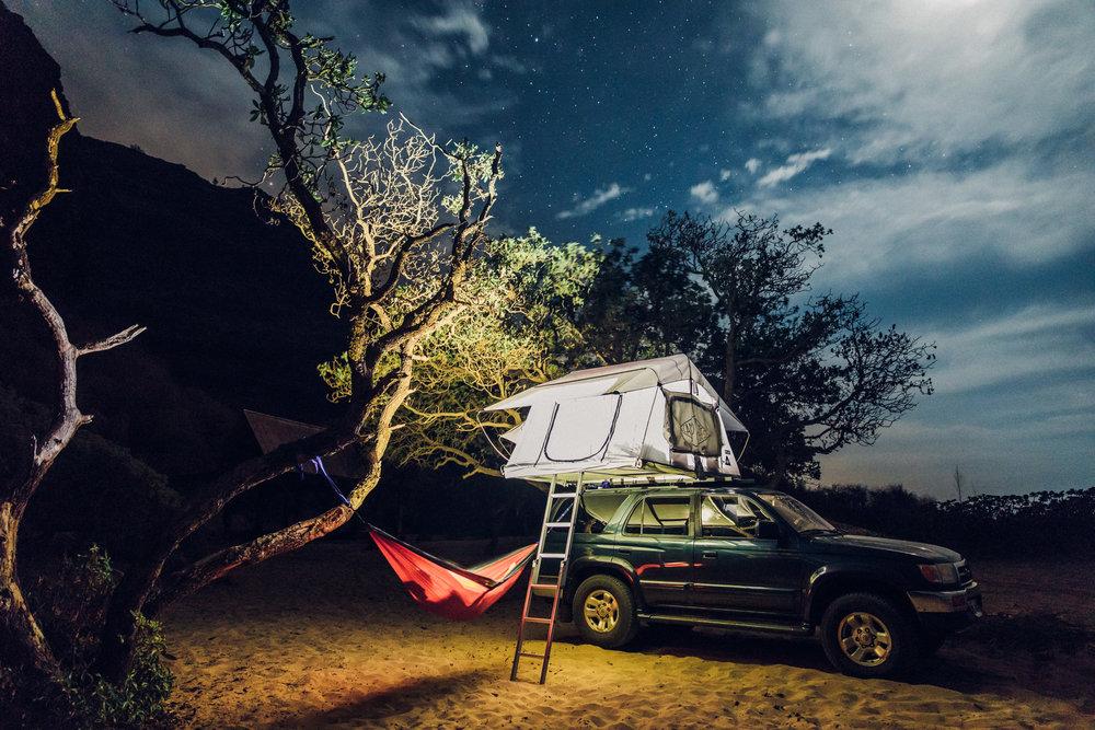 Hawaii-Overland-Kauai-roof top tent-camping-polihale-rental-3.jpg