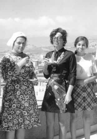 Mom, May Jumblatt, Hoda 1970 Aley