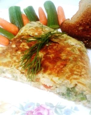 Dill Omelet6