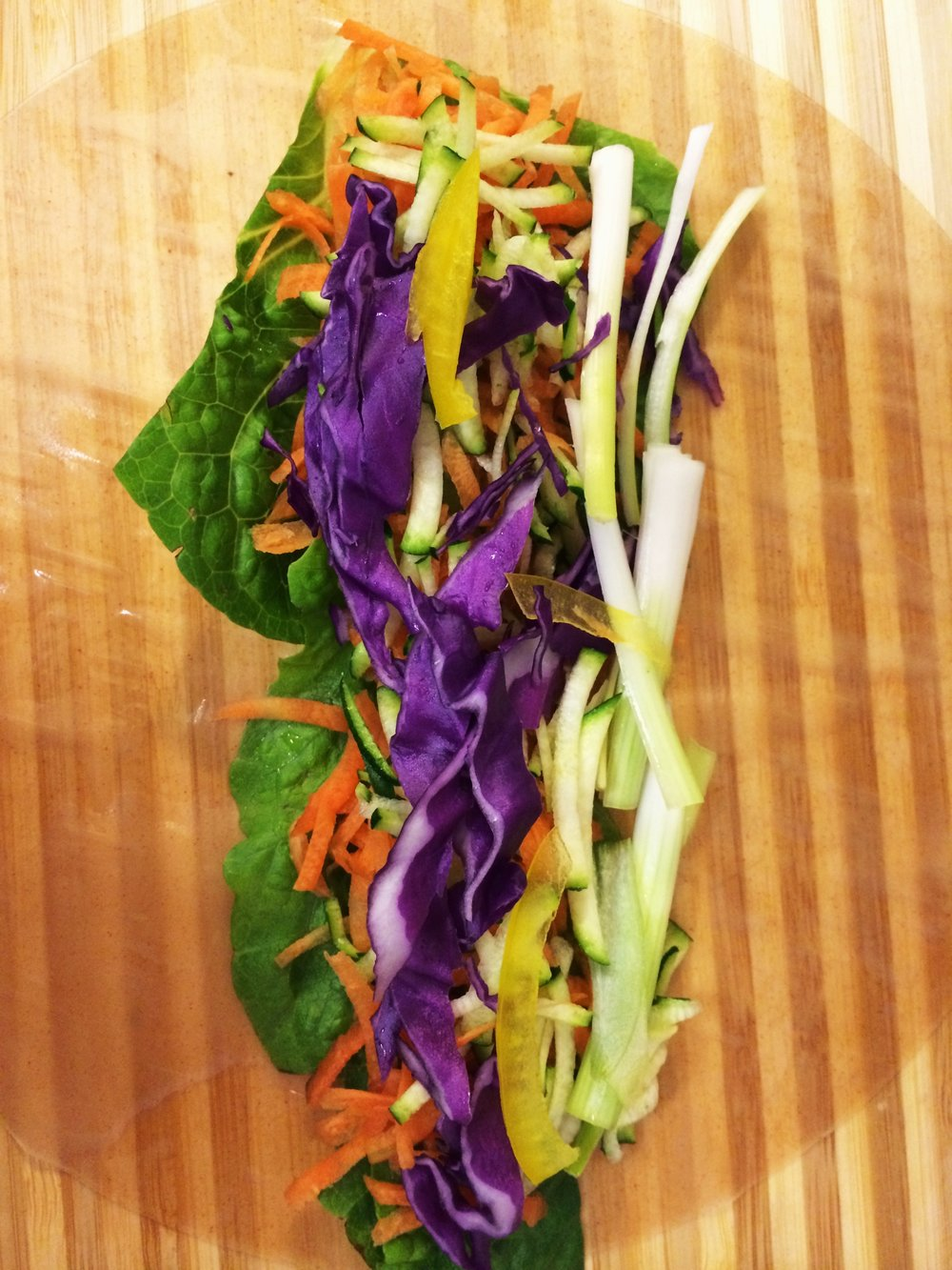 brown rice wrap