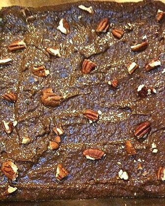 black bean brownies raw