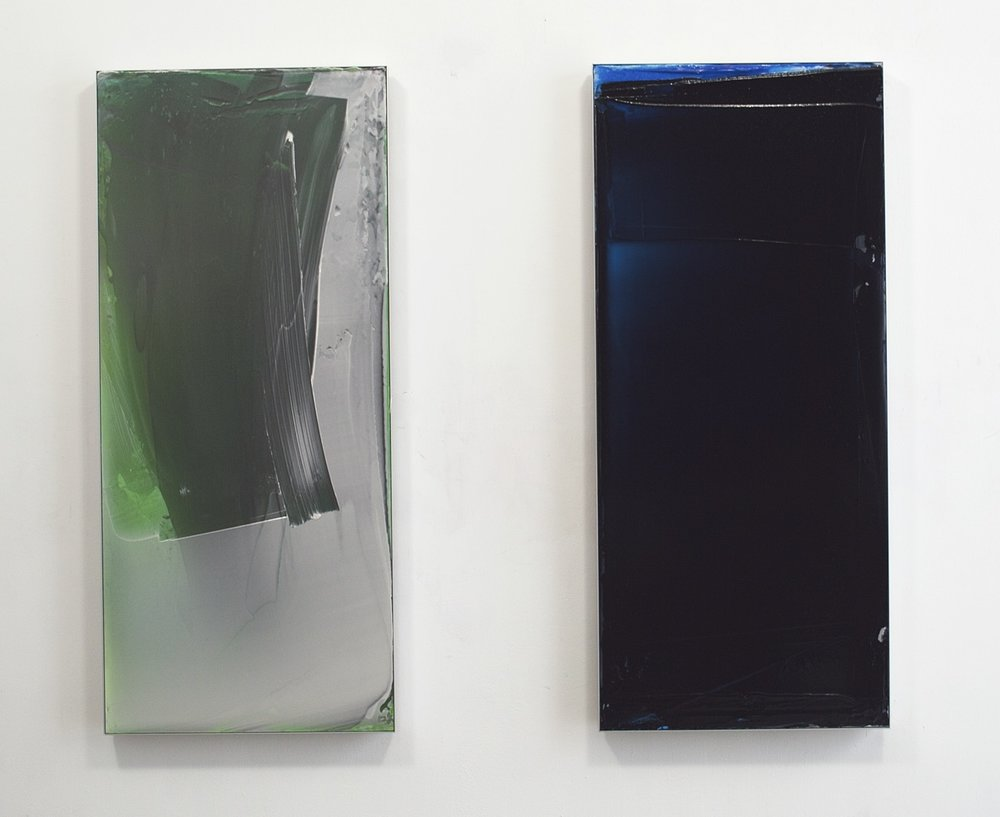 2 Paintings for Alessandra, 2016, ea 120x52cm.jpg