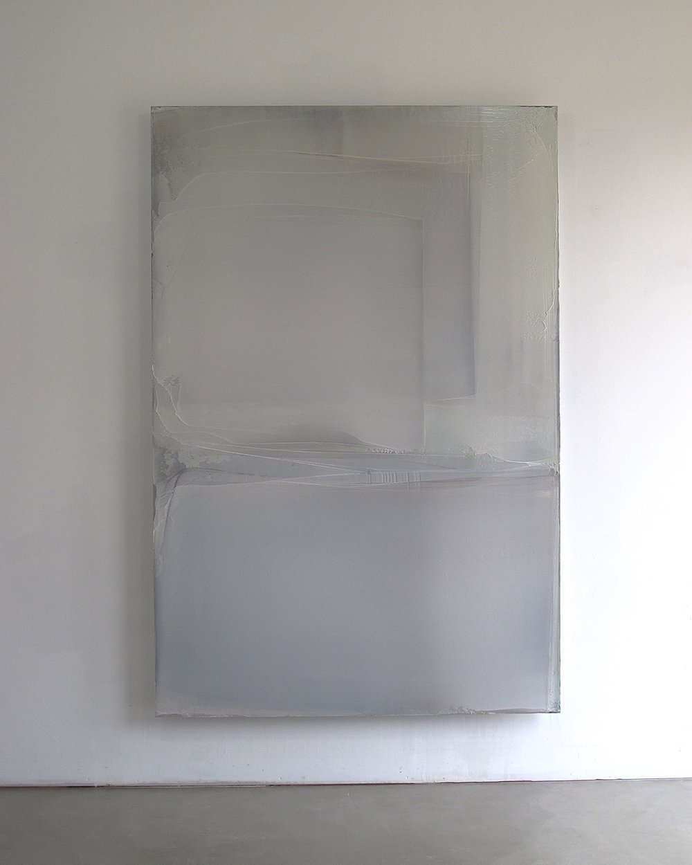 Large White Composition (Burgundy Light), 2012, 220x150cm.jpg