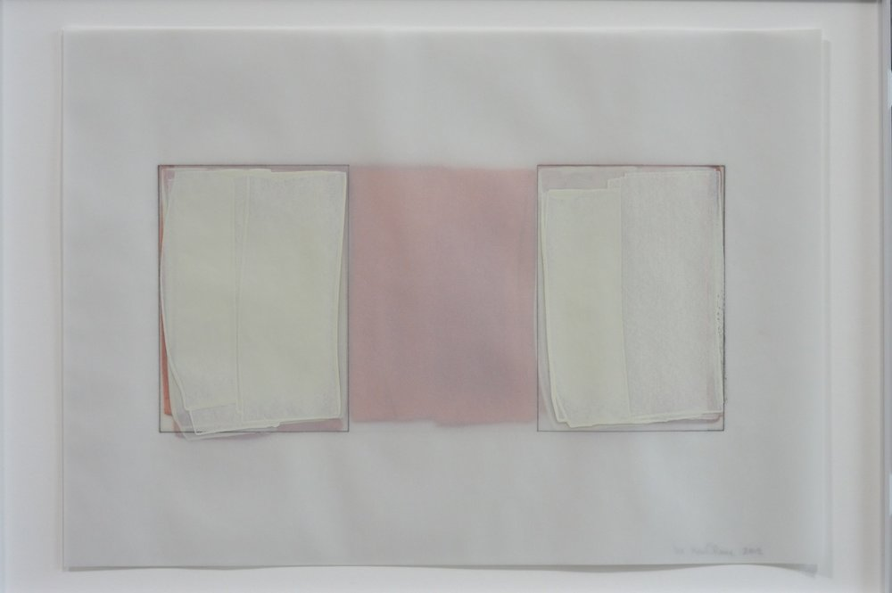 work on paper, 2012