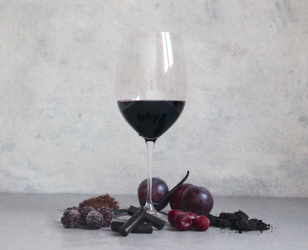 Key flavours: Plum, Cherry, Blackberry, Vanilla, Tobacco, Liquorice, Earthy.