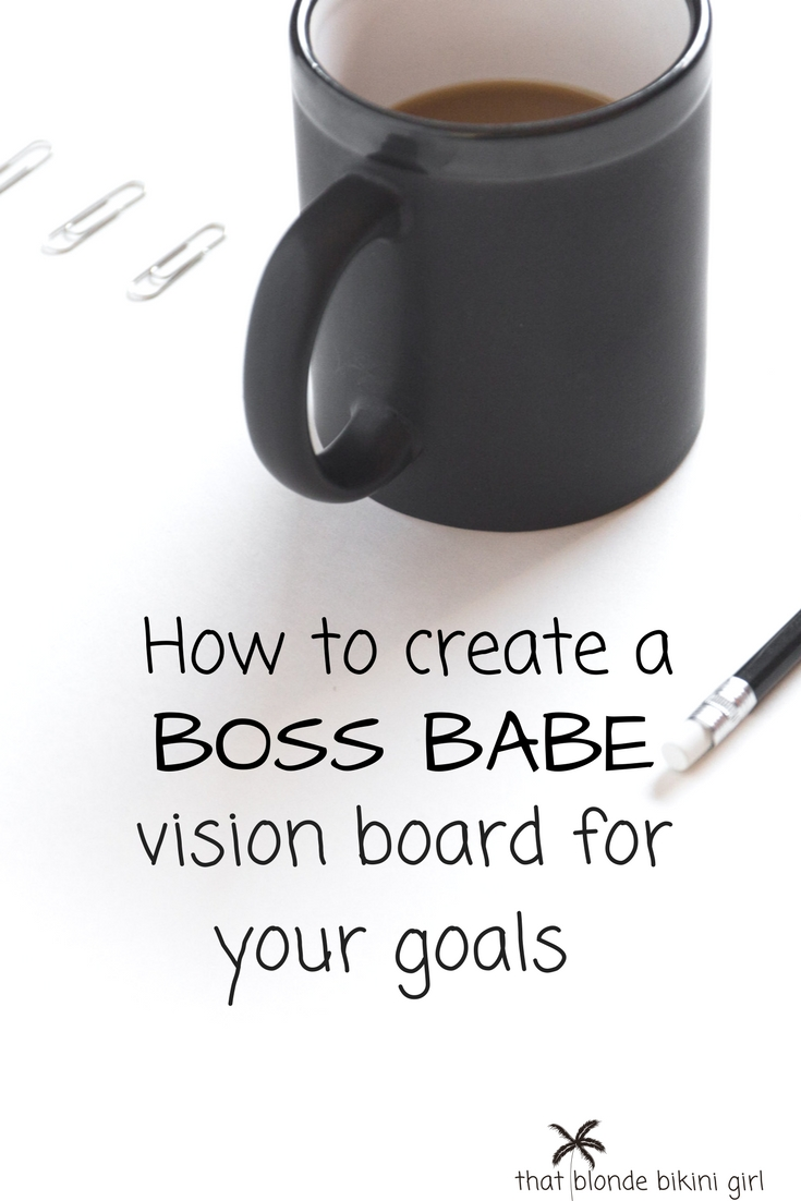 how to create a travel & vision board