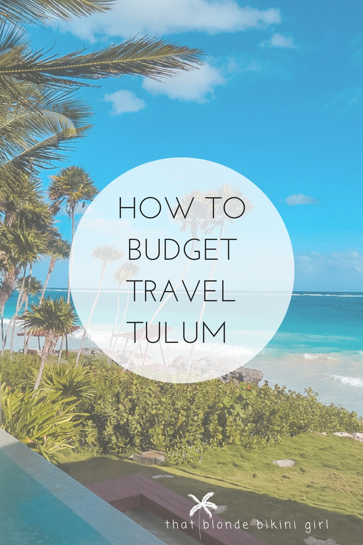 a guide to traveling tulum