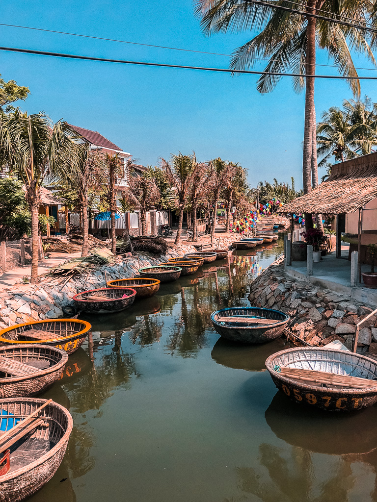 Floating market, Hoi An