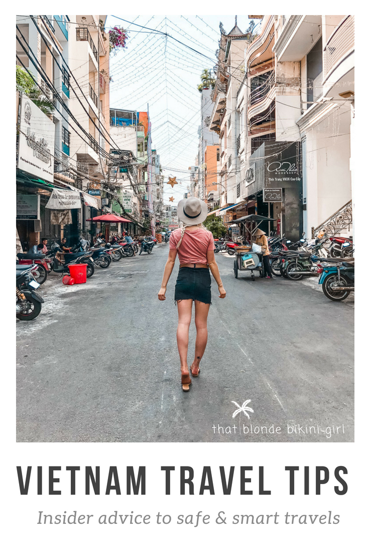 Travel tips Vietnam