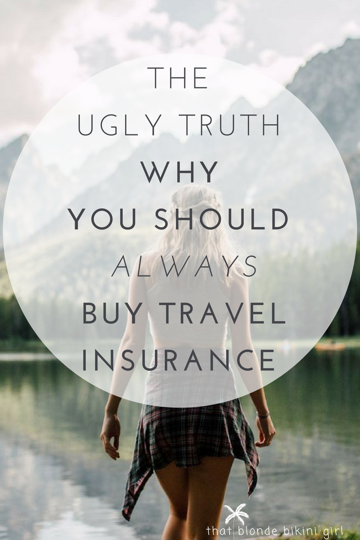 Why you should always buy travel insurance