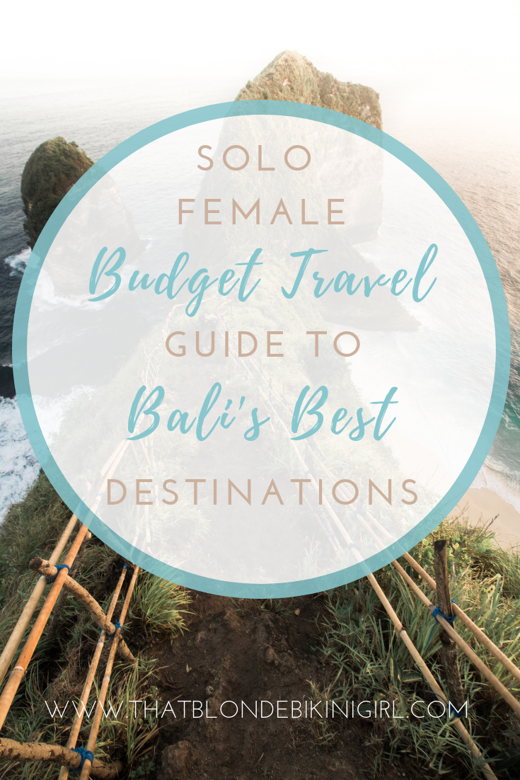 Solo Female Budget Travel Guide to Bali