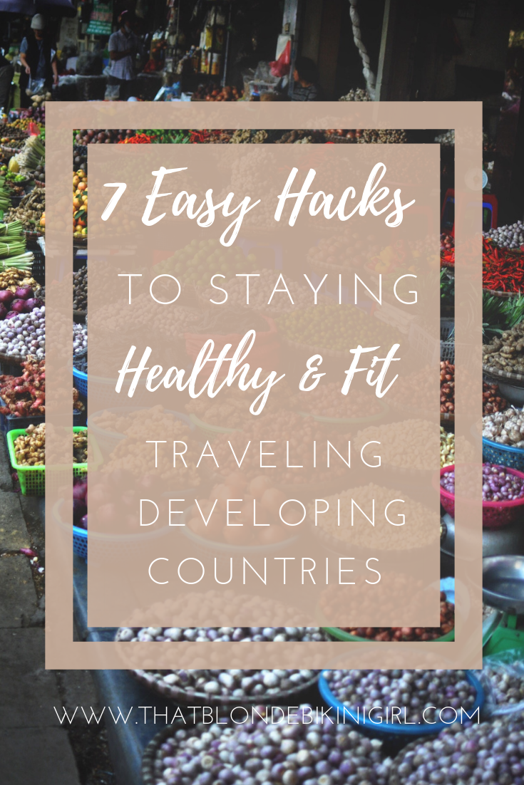 How to stay healthy and fit on vacation