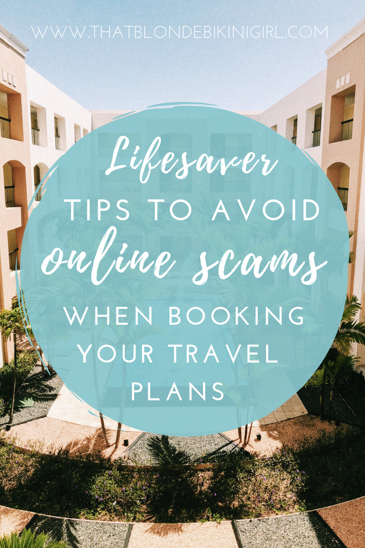 Tips to booking online to avoid scams