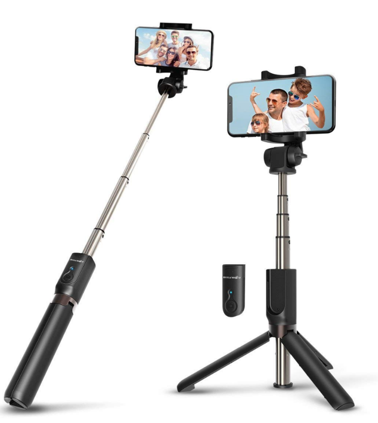 How awesome is this selfie stick?! A tripod too! A solo traveller's new BFF! - $30.99