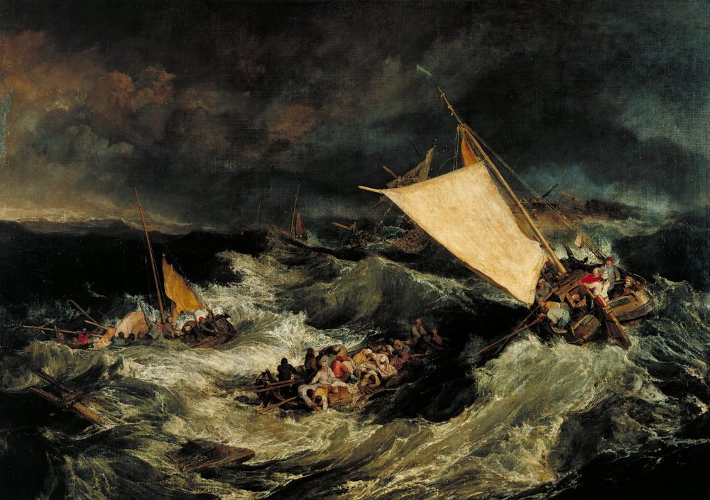 J.M.W. Turner,  The Shipwreck  (1805)
