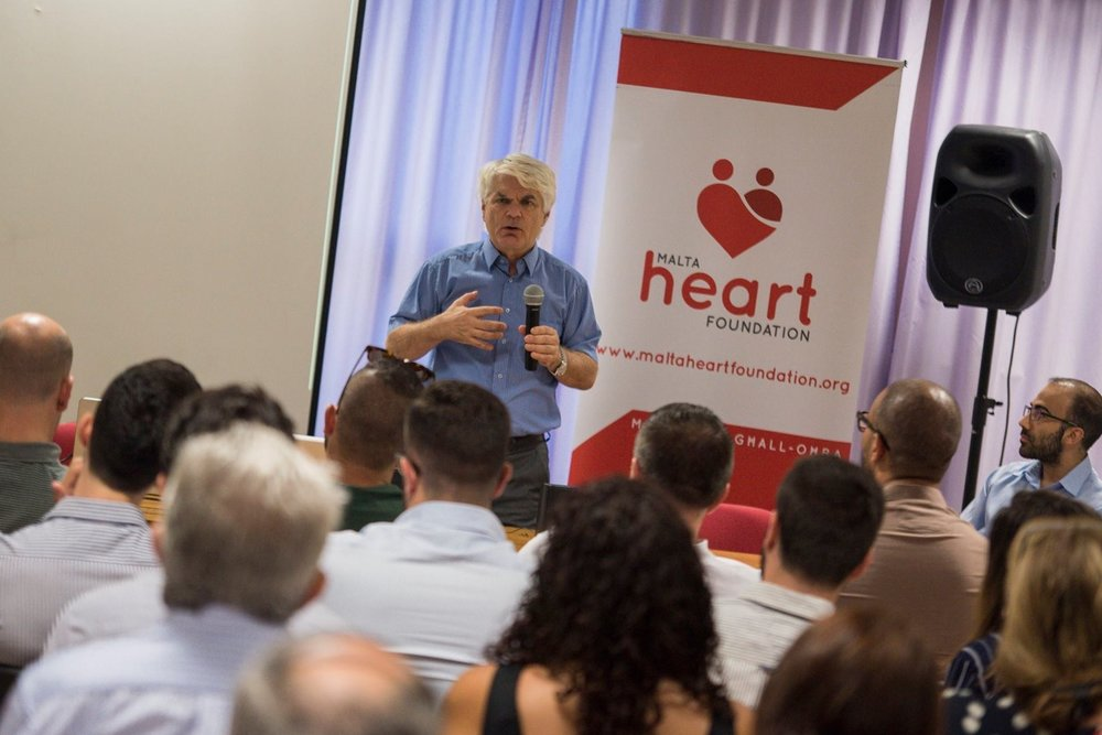 THE GRAND TOUR   Throughout the upcoming year we will be organising a series of public talks in a number of key localities all over the Maltese islands. These talks aim to promote a 'Heart Healthy Lifestyle' across all ages.