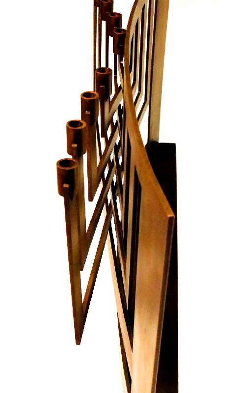 Lizzie Katz Menorah Judaica Design