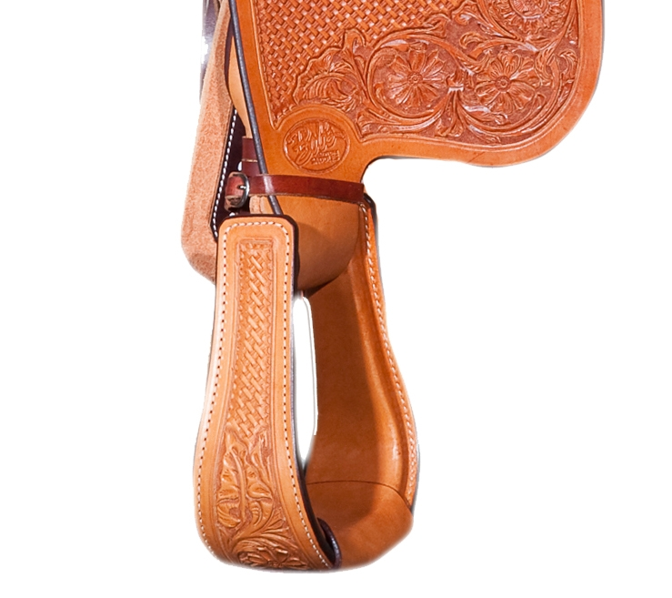 Leather Stamped Stirrups.jpg