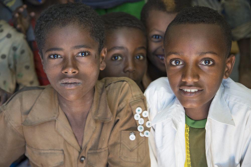 School in Gondar, Ethiopia