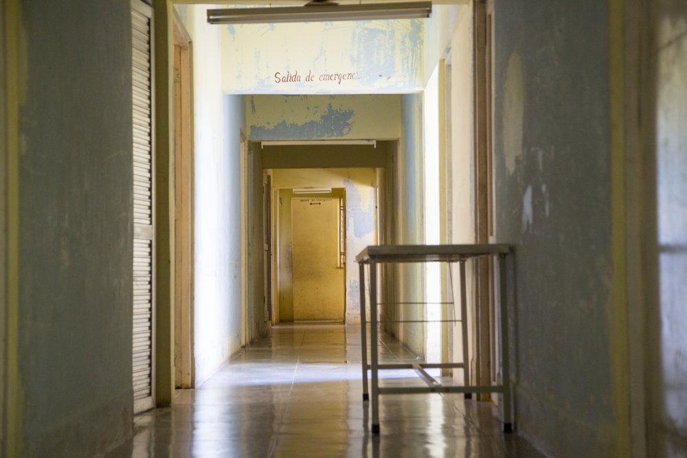 Abandoned hospital outside Cienfuegos, Cuba