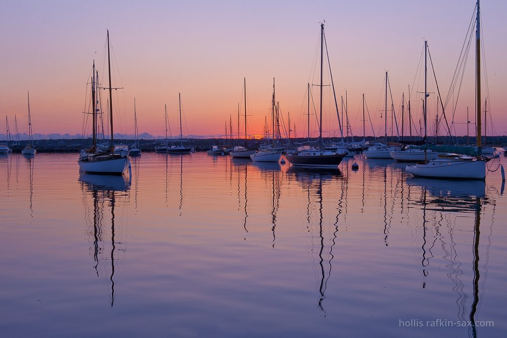 Vineyard Haven on Martha's Vineyard, MA