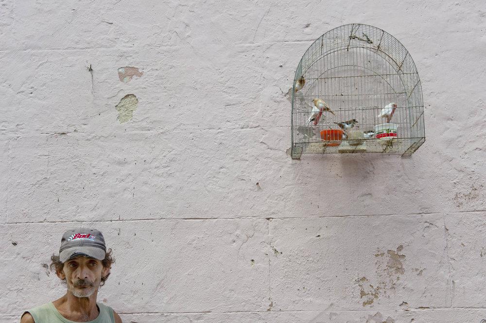 Street vendor in Havana, Cuba