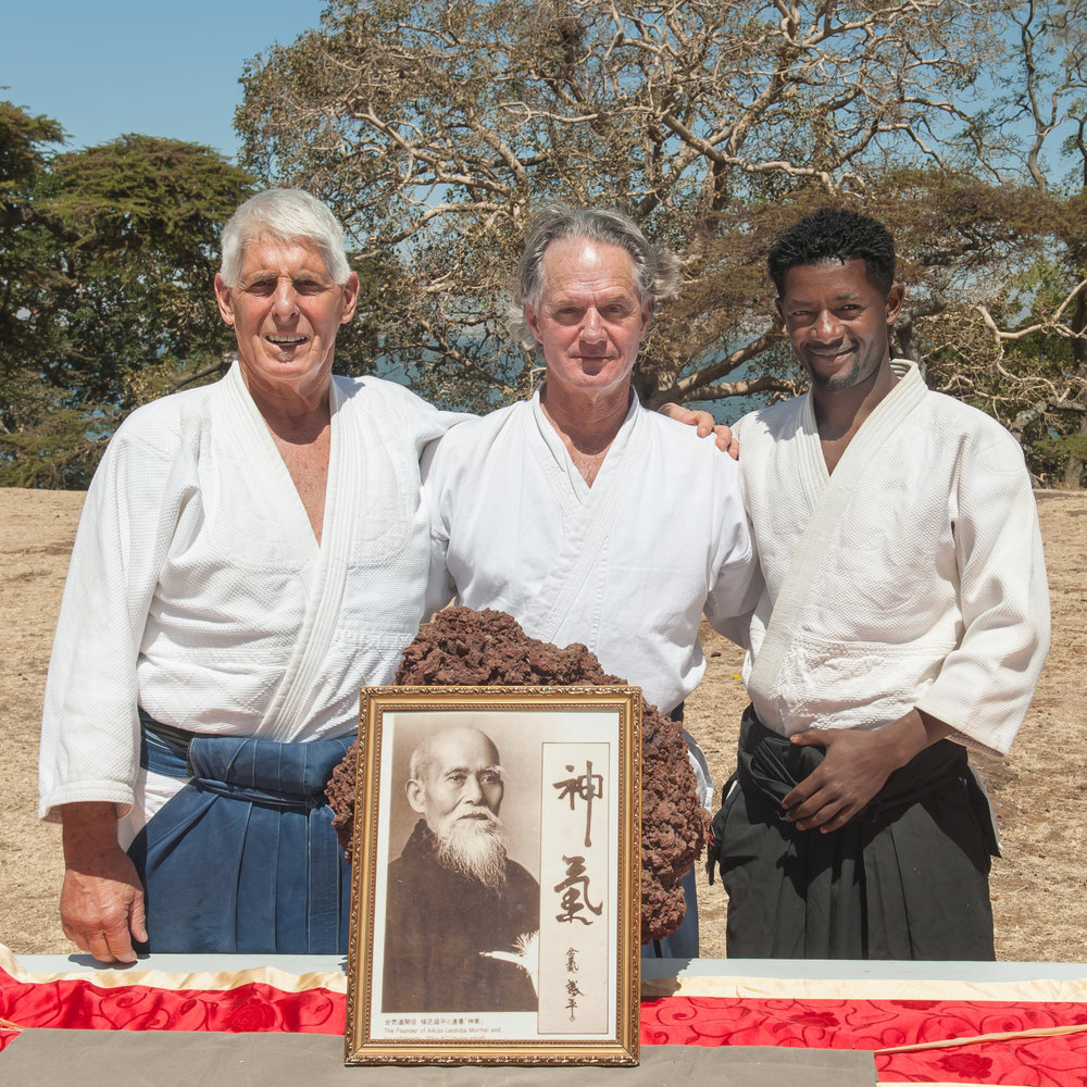 "Sensei's: Dr Louis Pollack - Eminent paediatrician and founder of the Wax and Gold NGO Dr Richard Strozzi-Heckler - Author and founder of the ""Embodied Leadership Institute. Tesfaye Tekelu - Founder - Awassa Youth Camp, Ethiopia"