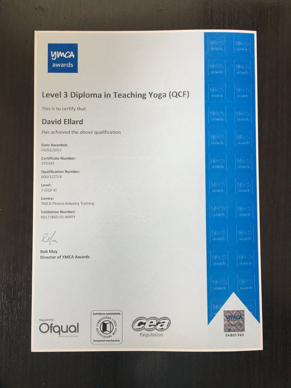 David_Ellard_Yoga_Certification