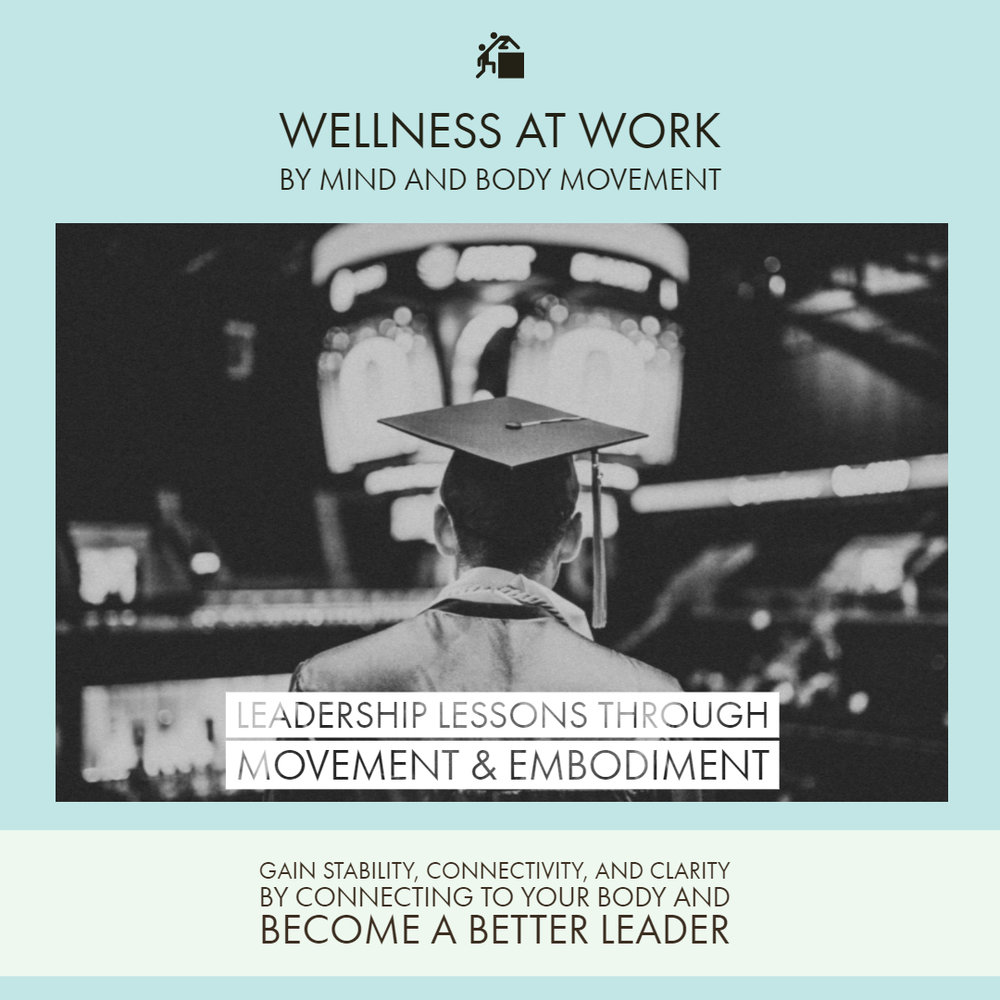 View and download the PDF Brochure for the Leadership Lessons through Movement and Embodiment Workshop -