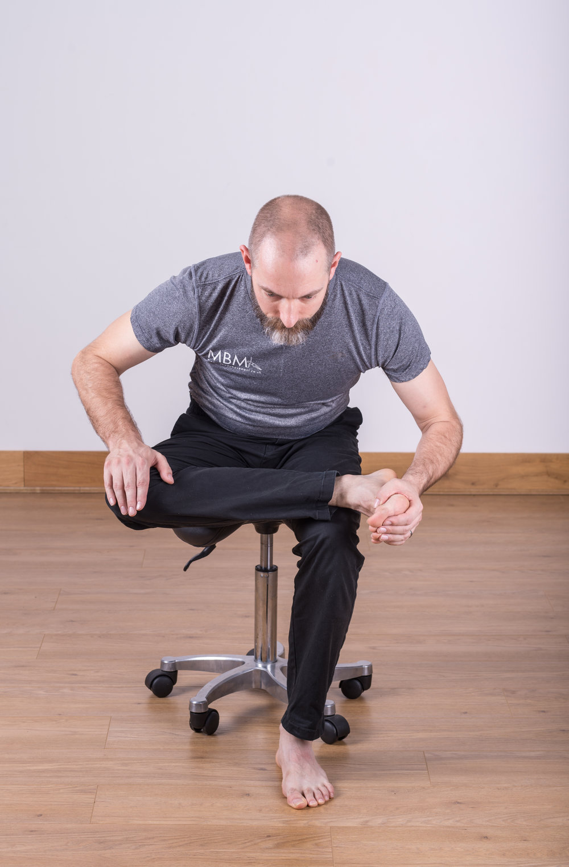 Seated Piriformis Stretch
