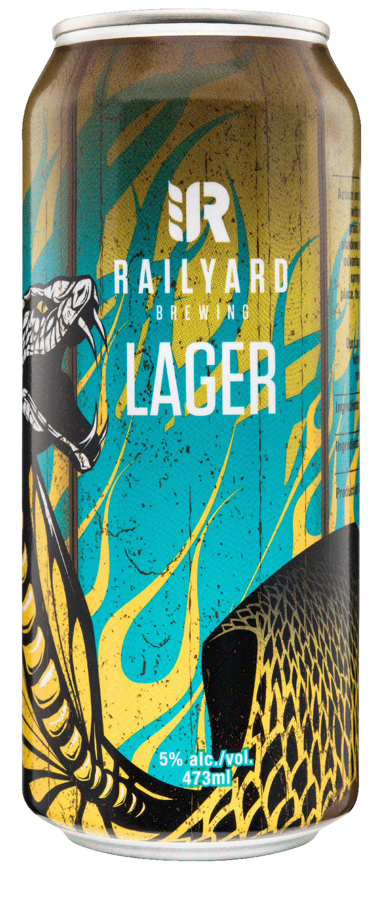 RAILYARD LAGER   Fusing the finest Alberta Malt & classic European hops the Railyard Lager brings down the rail-crossing gates when it comes to quenching your thirst. Graham cracker sweetness, balanced with a delicate hop herbaceous finish, look no further than this being the last stop of your day.