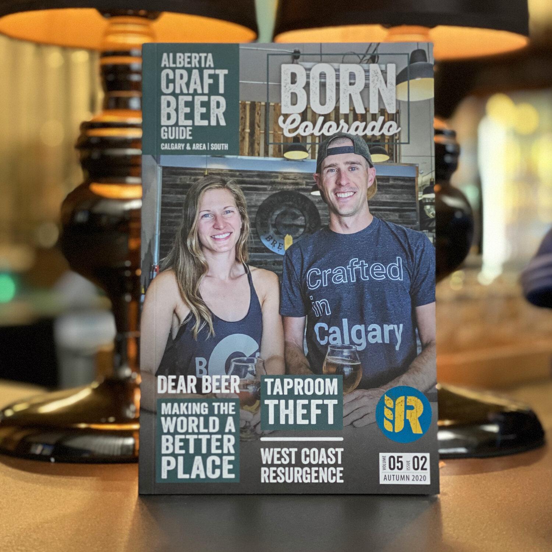 ALBERTA BEER GUIDE (Autumn 2020 Edition - Calgary & Area   South)  Railyard Brewing   Calgary Craft Brewery