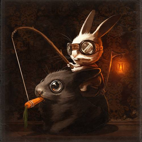 Mr Bunners the Rabbit Master by Mike Mitchell leads the way
