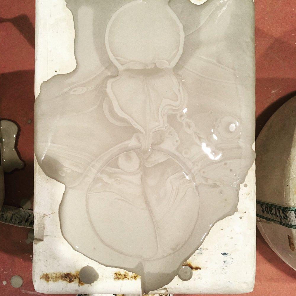Porcelain Rorchach