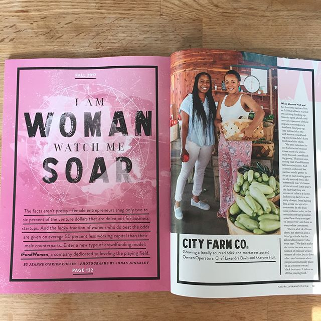 mbody in print!! Thank you to everyone who supported our campaign with #ifundwomen and also to the amazing team that brought @ifundwomen to the world