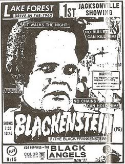 Blackenstein did not have it easy