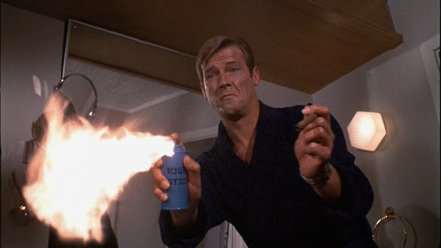 Roger Moore: God of Fire