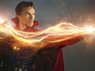 Now Doctor Strange has got the Glow!