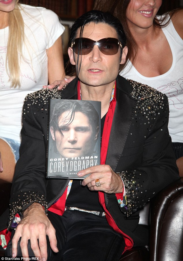 Sep 2016. Former child actor Corey Feldman gave a live performance from his new.