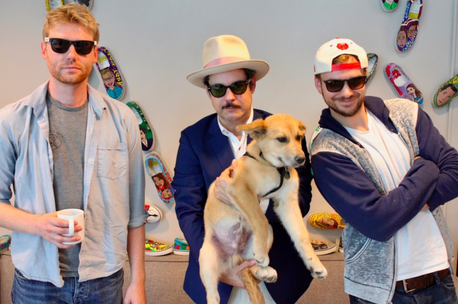 I didn't do a Bestcast with Hollywood Handbook or PFT. I just really love this picture.