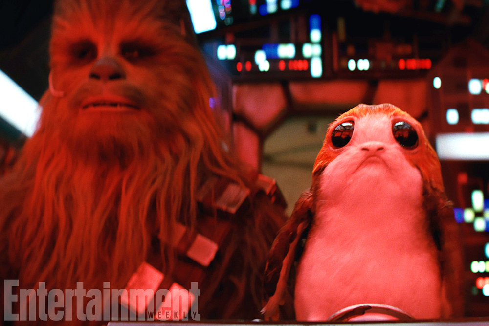 I thought the hour-long Porg-y & Bess production number was cute but a little excessive.