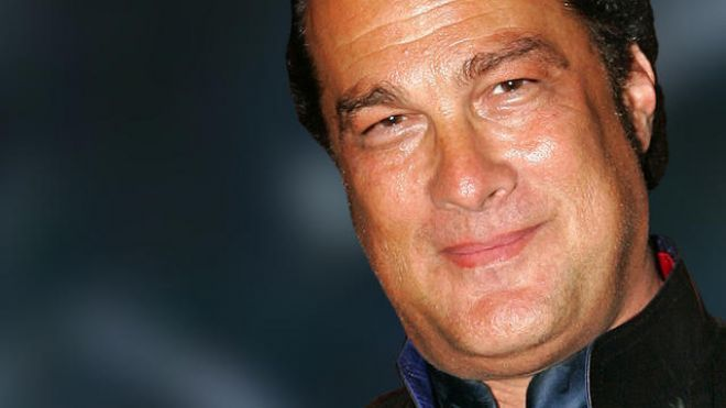At a certain point, Steven Seagal turned into James Belushi.